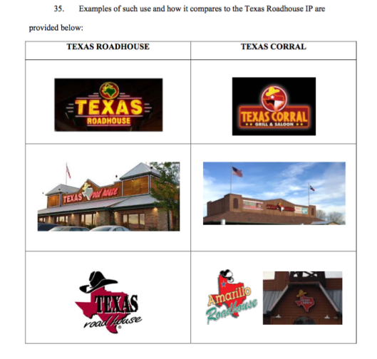 Texas Roadhouse Complaint
