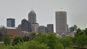 Indianapolis Skyline but NOT Richard Bell's Indianapolis Skyline